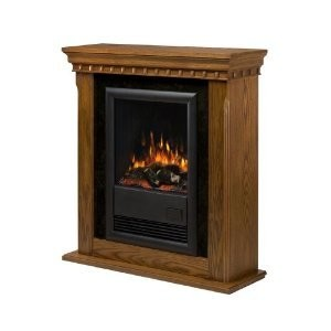 Dimplex CFP3913O Compact Electric Fireplace with Oak Finish