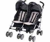 Graco Twin Ipo Stroller - Platinum