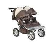 Valco Baby Tri Mode EX Twin Jogger Stroller - Chocolate