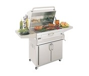 Fire Magic Custom I 22-SC01C-61 Charcoal All-in-One Grill / Smoker