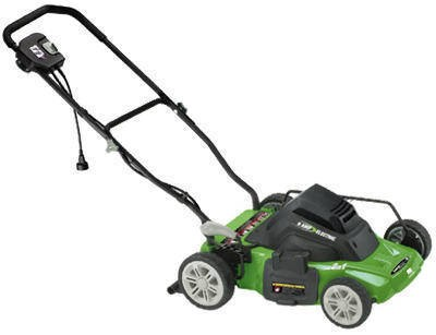 Earthwise 14-inch Corded 120-volt Electric Lawn Mower