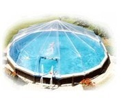 24' Above Ground Swimming Pool Solar Dome Cover Heater Sundome 17 Panels ( Dome)