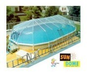 15' X 25' Oval Above Ground Swimming Pool Solar Sun Dome Cover Heater Sundome 18 Panels (Sun Dome)