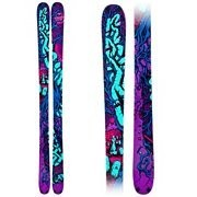 K2 Revival Schizo Twin Tip Skis with Griffon Schizofrantic Bindings 2011