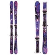 K2 Super Free Womens Skis with Marker/K2 ERS 11.0 TC Bindings 2012