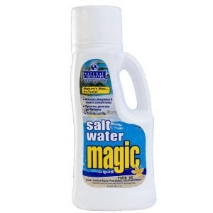 Natural Chemistry 07402 Pool Salt Water Magic Liquid, 1-Liter