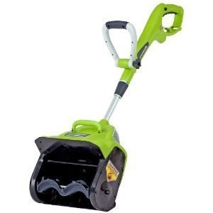 Greenworks 12 7 Amp Electric Snow Thrower Blower