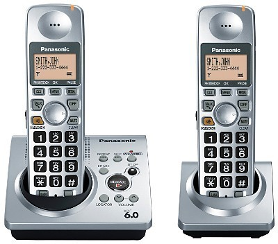 Panasonic Expandable Digital Cordless DECT 6.0 Phone System