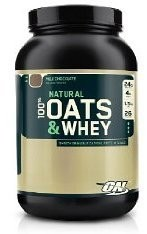 Optimum Nutrition - Natural Oats and Whey Protein