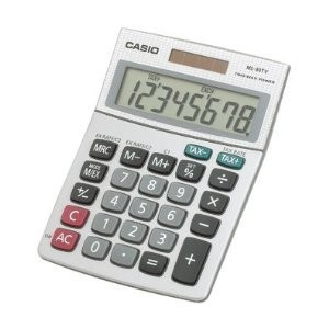 Casio MS-80S-S-IH Desktop Calculator with 8-Digit Display