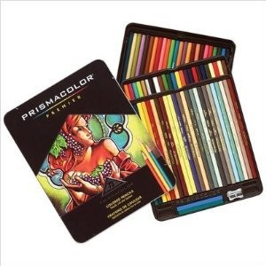 Sanford Prismacolor Premier Colored Pencil Set, 72/Tin with New Colors