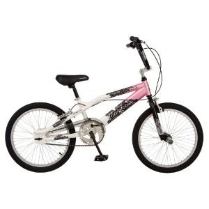Mongoose Slyde Girls' Freestyle Bike (20-Inch Wheels)
