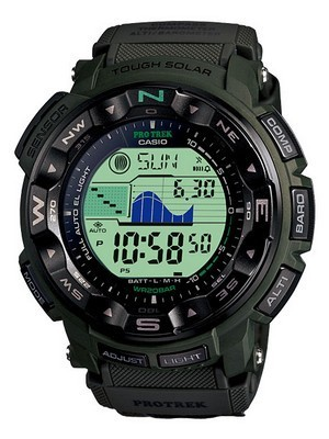 Casio Protrek Solar Power PRG-250B-3 Mens Watch