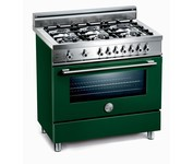 Bertazzoni X366PIRVE Dual Fuel (Electric and Gas) Range