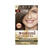 Natural Instincts Clairol, Haircolor, Tweed Light Ash Brown No.14 1 Each