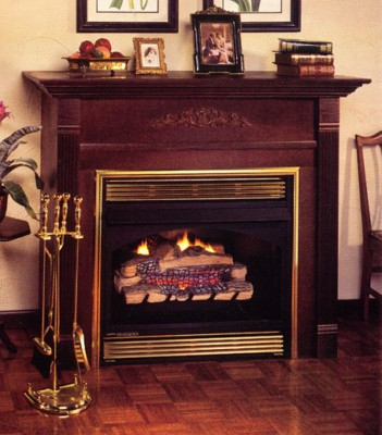 Vanguard Classic Hearth Vent Free Fireplace Natural Gas